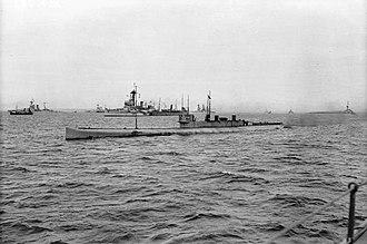 HMS K3 - Image: HMS K3 IWM SP 1664