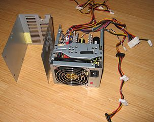 File:HP-Compaq-PC-Power-Supply IMG 8112.JPG - Wikimedia Commons