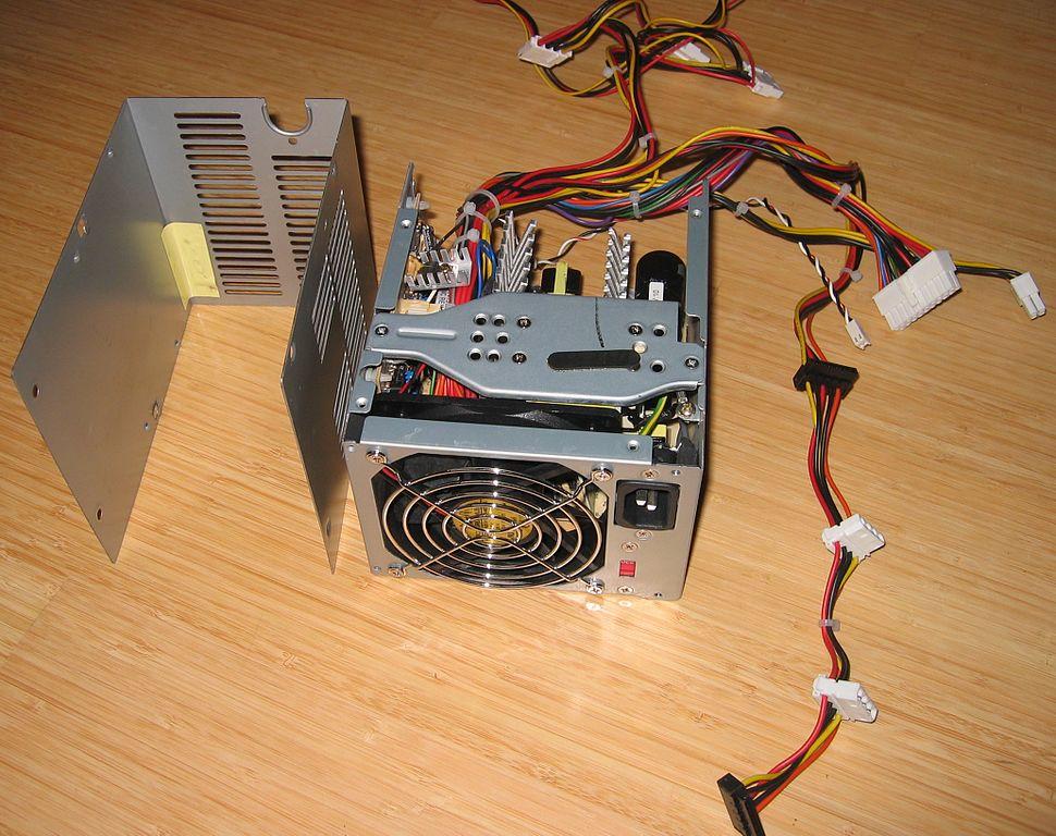 File:HP-Compaq-PC-Power-Supply IMG 8112.JPG - Wikimedia Commons
