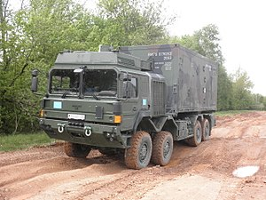 RMMV HX range of tactical trucks - Image: HX44M