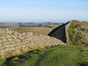Milecastle 40 - Hadrian's Wall at the site of Turret 40A