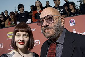 Sid Haig - Sid Haig with his wife, Susan L. Oberg, at the 2007 Scream Awards