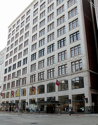 Halle Brothers Co. - The Halle Building in Cleveland is listed on the National Register of Historic Places