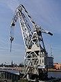 Hamburg -Schwimmkran HHLA IV (1957) Deutschen Maschinenbau-Aktiengesellschaft (DEMAG) - 2006 by-RaBoe 004.jpg