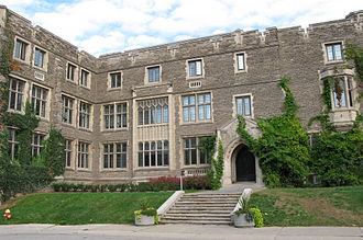McMaster University - Hamilton Hall was constructed in 1926 in preparation for the university's move to Hamilton.