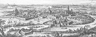 Hanau-Münzenberg - Hanau during Thirty Years' War