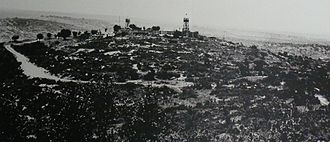 1938 in Mandatory Palestine - Kibbutz Hanita, built in the Tower and stockade settlement method, 1938