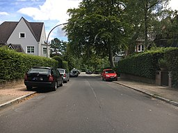 Hardenbergstraße in Hamburg
