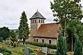 Harpersdorf (Kraftsdorf)- the village church and the churchyard.jpg