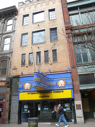 Harris Theater (Pittsburgh) - Image: Harris Theater Pittsb jeh