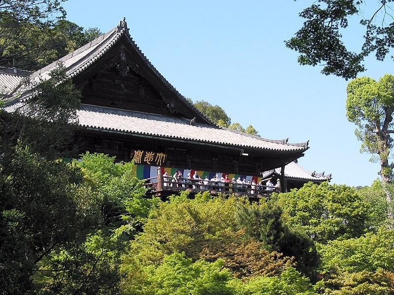 長谷寺の本堂(国宝)