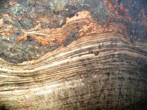 Haselgebirge - Haselgebirge of Berchtesgaden salt mines