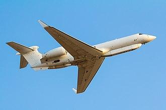 Gulfstream V - Israeli SEMA Gulfstream G550 inflight
