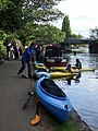 Having a go at canoeing - geograph.org.uk - 1534415.jpg