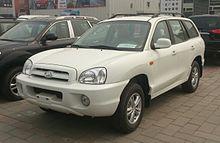 Hyundai santa fe wikipedia hawtai santa fe china publicscrutiny Choice Image