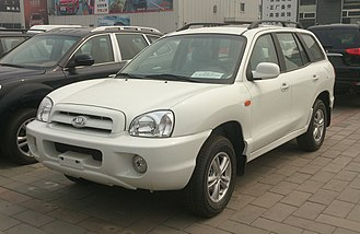 Hyundai Santa Fe - Hawtai Santa Fe (China)