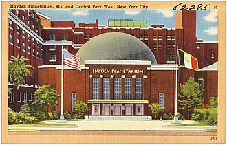 Rose Center for Earth and Space - Hayden Planetarium, circa 1935–45