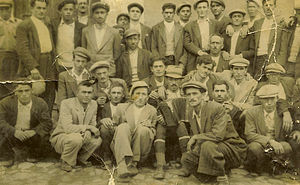 Hayriye, İnegöl - Young villagers, most of them farmers, before the first wave of emigration to Germany.