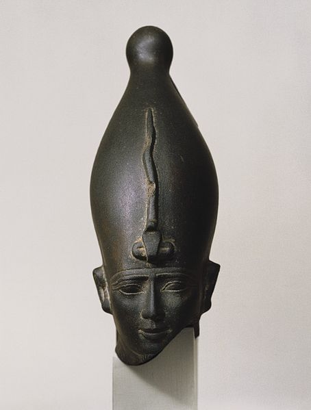 File:Head of the God Osiris, ca. 595-525 B.C.E..jpg