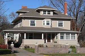 National Register of Historic Places listings in Merrick County, Nebraska - Image: Heber Hord House 1