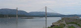 Helgeland Bridge - View of the bridge (from south)