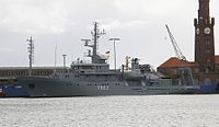 Helmsand medium test boat