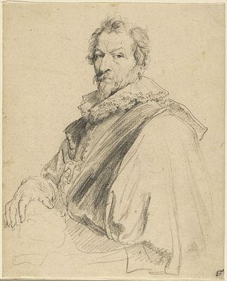 Hendrick van Balen - Hendrick van Balen by Anthony van Dyck, c. 1627-1632