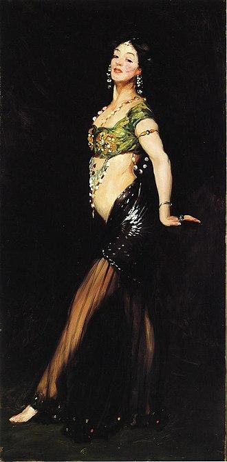 Robert Henri - Salome, 1909, John and Mable Ringling Museum of Art, Sarasota, Florida