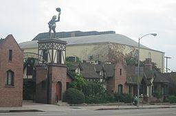 Jim Henson Studios at 1416 N. La Brea Avenue, Hollywood, CA by  Gary Minnaert
