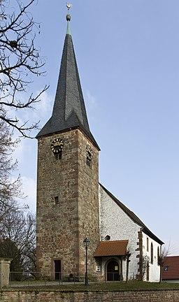 Heuchelheim Klingen evangelische Kirche Klingen 20140306