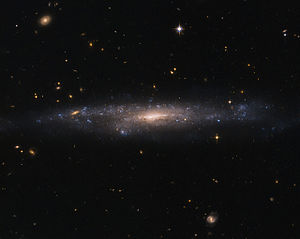 Low-surface-brightness galaxy - Image: Hiding in the night sky