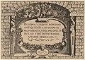 Hieronymus Cock, Title Page, published 1551, NGA 91296.jpg