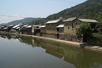 Sayō, Hyōgo - Hirafuku, scenery of the ridge of Sayō River