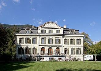 Reichenau an der Rax - Image: Hirschwang Villa Schoeller