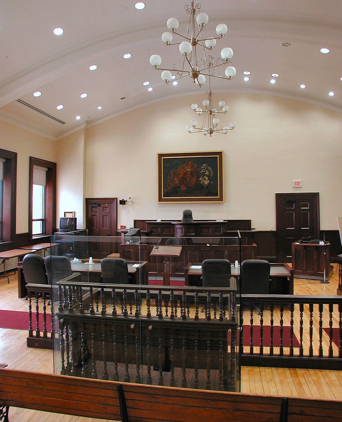 courtroom wikipedia. Black Bedroom Furniture Sets. Home Design Ideas