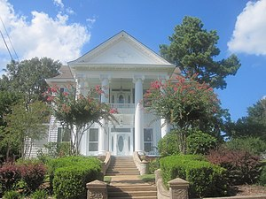 Camden, Arkansas - The Richie-Crawford House at 330 Clifton Street in Camden