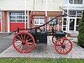 Historical firefighting pump, 2020 Pápa.jpg