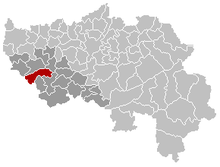 Location of Huy