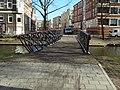 Hoevebrug - Provenierswijk - Rotterdam - View of the bridge from the west - Winter.jpg