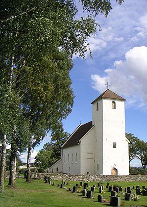 Østre Toten - Hoff stone church