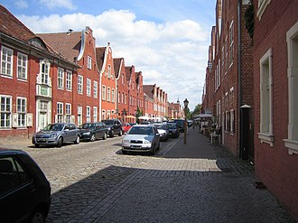 Dutch Quarter - The Dutch Quarter of Potsdam - buildings of the 1780s