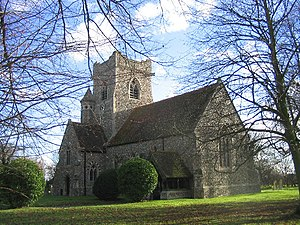 Pleshey - Image: Holy Trinity Church, Pleshey, Essex geograph.org.uk 108678