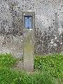 Holzbrücke Bad Säckingen (deutsche Seite) — Schild, weiß auf blau, RKS 6 III.jpg