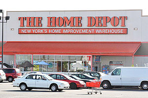 English: Home Depot Storefront