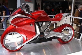 Honda VFR1200F - Honda V4 Concept Model.