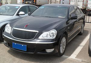 Toyota Crown Majesta - Hongqi HQ3