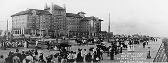 Hotel Galvez - Galvez Hotel circa 1911