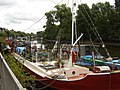 Houseboats near Kew Bridge - geograph.org.uk - 1128111.jpg