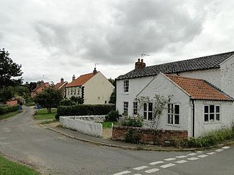 Frostenden - The Street, at Frostenden Corner, just outside of the main village