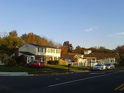 Houses in Burke, October, 2015